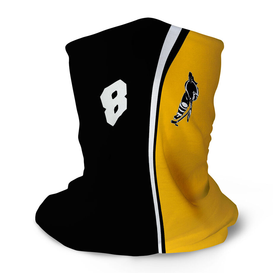 Hockey Multifunctional Headwear - Personalized Hockey Girl RokBAND