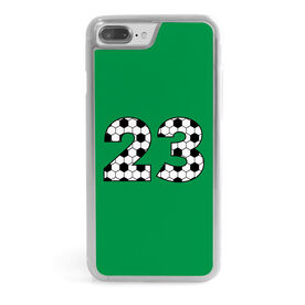 Soccer iPhone® Case - Custom Soccer Numbers