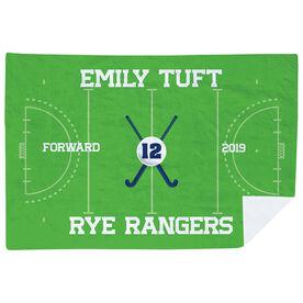 Field Hockey Premium Blanket - Personalized Field Hockey Team