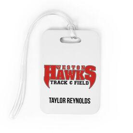 Track and Field Bag/Luggage Tag - Custom Logo