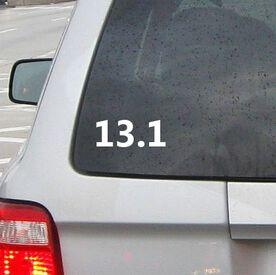 13.1 Vinyl RUNNERDecal