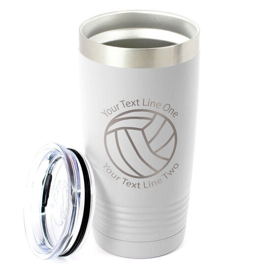 Volleyball 20 oz. Double Insulated Tumbler - Icon