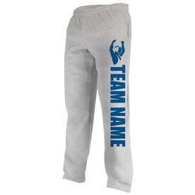 Wrestling Fleece Sweatpants Team Name