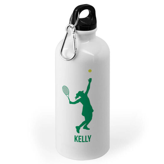 Tennis 20 oz. Stainless Steel Water Bottle - Tennis Female Player