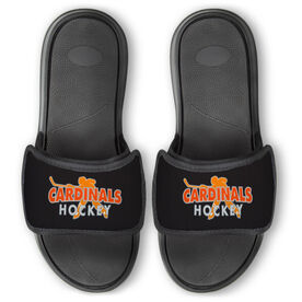 Hockey Repwell™ Slide Sandals - Your Team Name