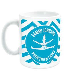 Cheerleading Coffee Mug Personalized Silhouette