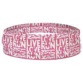 Running Multifunctional Headwear - Live Love Run Repeat RokBAND