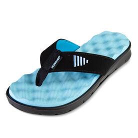 PR SOLES® Recovery Flip Flops (Light Blue)
