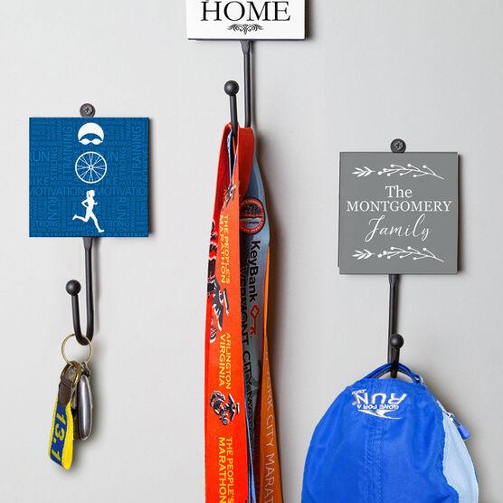 Triathlon Medal Hook - Tri Inspirational Female