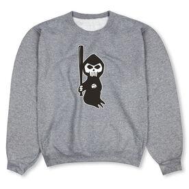 Baseball Crew Neck Sweatshirt - Baseball Reaper