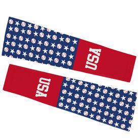 Baseball Printed Arm Sleeves - Baseball USA