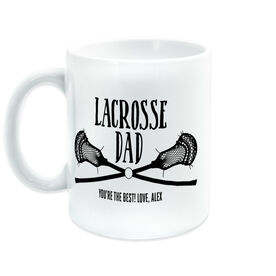 Guys Lacrosse Coffee Mug - Lacrosse Dad