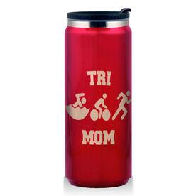Stainless Steel Travel Mug Tri Mom