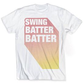 Vintage Baseball T-Shirt - Swing Batter Batter