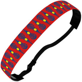 Girls Lacrosse Juliband No-Slip Headband - Line Up The Sticks