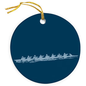Crew Porcelain Ornament Rowing Team