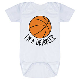 Basketball Baby One-Piece - I'm A Dribbler