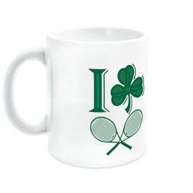Tennis Coffee Mug I Shamrock