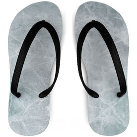 Hockey Flip Flops Walking On Ice