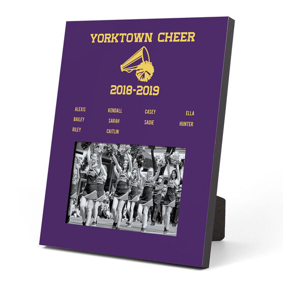 Cheerleading Photo Frame - Team Roster