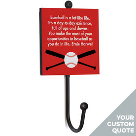Baseball Medal Hook - Your Quote