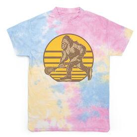 Guys Lacrosse Short Sleeve T-Shirt - Lacrosse Bigfoot Tie Dye