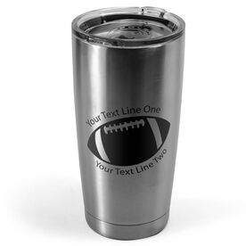 Football 20 oz. Double Insulated Tumbler - Icon