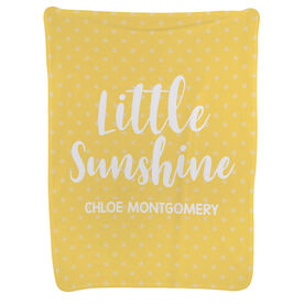 Personalized Baby Blanket - Little Sunshine