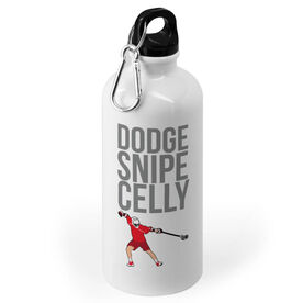 Guys Lacrosse 20 oz. Stainless Steel Water Bottle - Dodge Snipe Celly