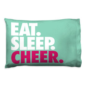 Cheerleading Pillowcase - Eat Sleep Cheer