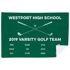 Golf Premium Blanket - Team Roster