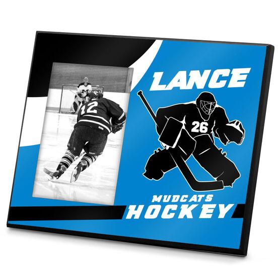 Hockey Personalized Photo Frame Stonewall Goalie