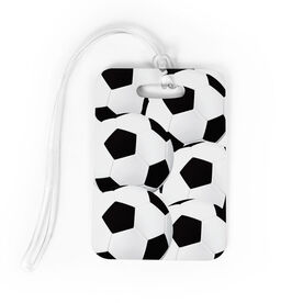 Soccer Bag/Luggage Tag - Ball Pattern