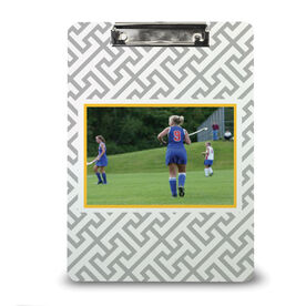 Field Hockey Custom Clipboard Field Hockey Your Photo Pattern