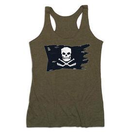 Hockey Women's Everyday Tank Top - Hockey Pirate Flag