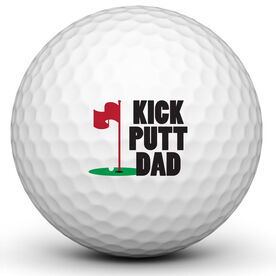Kick Putt Dad Golf Ball