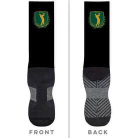 Golf Printed Mid-Calf Socks - Your Logo