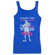 Softball Women's Athletic Tank Top This Princess Wears Cleats