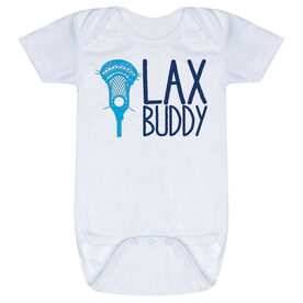 Guys Lacrosse Baby One-Piece - Lax Buddy