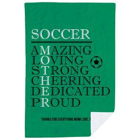 Soccer Premium Blanket - Mother Words