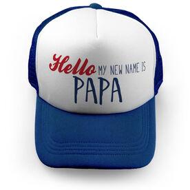 Personalized Trucker Hat - Papa