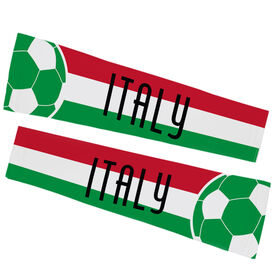 Soccer Printed Arm Sleeves - Soccer Italy