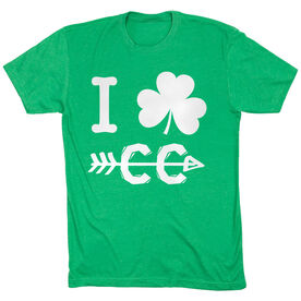 Cross Country Short Sleeve T-Shirt - I Shamrock Cross Country CC