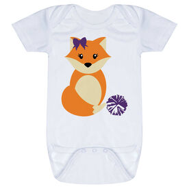 Cheerleading Baby One-Piece - Cheer Fox