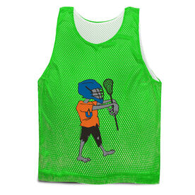 Guys Lacrosse Pinnie - Zombie
