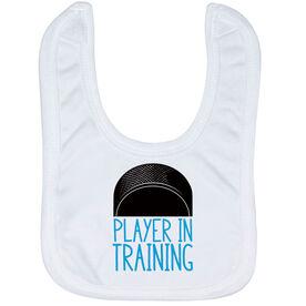Hockey Baby Bib - Player In Training