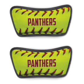 Softball Repwell™ Sandal Straps - Personalized Softball Stitches