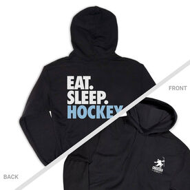 Hockey Hooded Sweatshirt - Eat. Sleep. Hockey (Logo Collection)