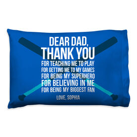 Softball Pillowcase - Dear Dad