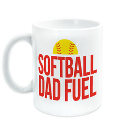 Softball Coffee Mug - Softball Dad Fuel